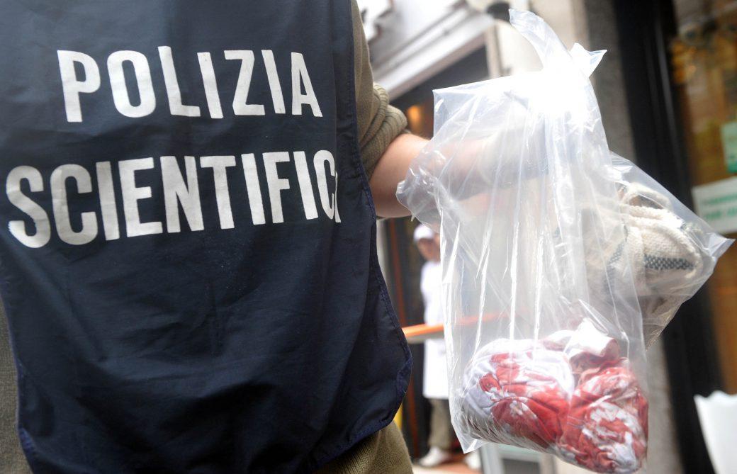 polizia scientifica investigatore della polizia